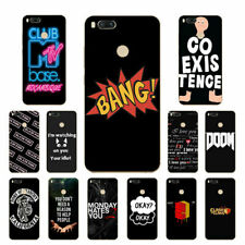 Soft Case For Xiaomi Mi 4 / 4i / 4C / A1 5X Silicone Phone Back Covers MTV Skins