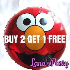 18 Inch Sesame Street Elmo Happy Birthday Party Balloon decor