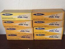 Lot Of 8 Yankee Universal Slide Trays 30 Slides