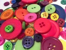 100g Couleur Assortis Candy vrac bouton Mix artisanat, scrapbooks, la couture et cartes