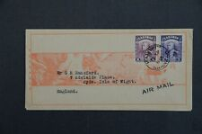 SARAWAK  1938 Kanowit red band cover