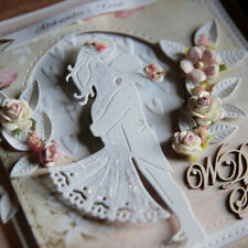 Bride and Groom Metal Cutting Dies Scrapbook Embossing Album Paper Cards Craft