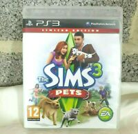 The Sims 3 Pets - PS3 - Ltd Edition - Sony Playstation 3 - Boxed - Fully Working