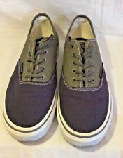 Men's Fila  Classic Canvas Blue  Multi color  Tennis Shoes Size 8.5
