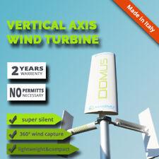 DOMUS energy domestic Vertical Axis wind Turbine generator house garden roof VAW