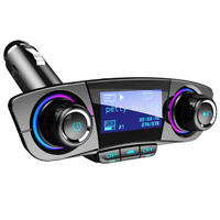 Inalámbrico Bluetooth 4.0 Transmisor Fm Aux Modulator Coche Audio MP3 Player