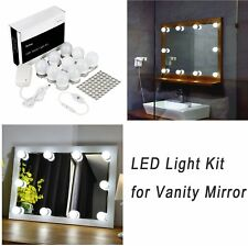 Hollywood Style 10Led Vanity Mirror Light Kit For Makeup Cosmeticdressing 13.5Ft
