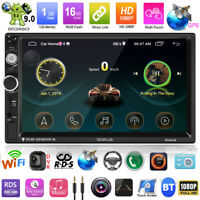"7"" 2DIN Android 9.0 Autoradio MP5 Player FM Radio GPS WiFi Bluetooth FM AM RDS"