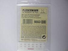 Fleischmann N - 9553 DB-Logos Aufkleber Anreibeetikett - Neu & OVP