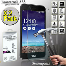 2 Pack For Asus PadFone X Genuine Tempered Glass Film Screen Protector Cover