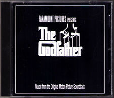 THE GODFATHER 1 Nino Rota Soundtrack CD Carlo Savina Francis Coppola Der Pate