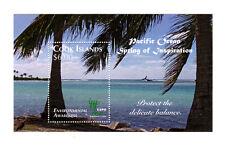 Cook Islands 2010 Shanghai Expo Flora and Fauna Issue Souvenir Sheet