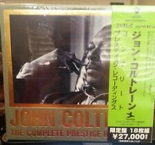 JOHN COLTRANE- COMPLETE PRESTIGE RECORDINGS[ 18 CDS ] Japan Edition. VICJ 41461