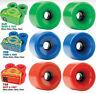 STAR-TRAC KRYPTONICS Ruote Per Skateboard Rosso Blu E Verde 55,60,65,70 & 75mm