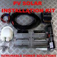 SOLAR PANEL FITTING KIT SUITS MOTORHOME CARAVAN CAMPER BONGO T4 T5 INC SIKAFLEX