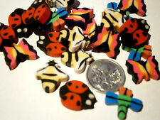 24 x Tiny Insect Mini, Small  Erasers, Eraser, Rubbers, Butterfly, Bee and more