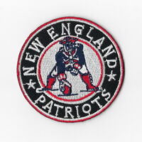 New England Patriots (r) Iron on Patch Embroidered Football Patches