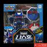 Geo Mecha Beast Guardian MINI NASHORN 03 Blue Rhino Transformer Robot Young Toys