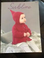 The Nineteenth Little Sublime D/K Design Book 18 Knitting Patterns For  0-3yrs