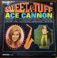 """Vintage 1966 Ace Cannon """"Sweet & Tuff"""" LP - Hi Records (HL-12030) EX"""
