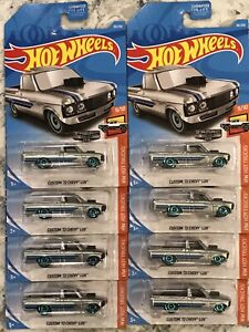 Hot Wheels 2019 J Case ZAMAC #30 Custom '72 Chevy Luv Pickup - Lot Of 8