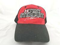 Tony Stewart # 14 NASCAR Haas Racing Baseball Cap Hat : Nu-Fit Fitted L XL : New