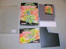 TNMT II Turtles 2 (NES Nintendo 8-Bit w/ clear box) Complete CIB