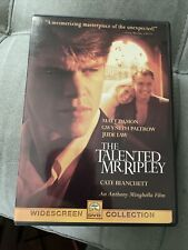The Talented Mr. Ripley (Dvd, 2000) Matt Damon Jude Law