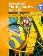 Essential Mathematics for Life: Book 7 : Review of Whole Numbers-ExLibrary