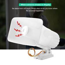 12V 150dB Treble Speaker Home Security Alarmanlage Horn Alarm Siren Lautsprecher