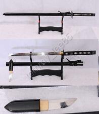 Handmade Ninja Full Tang Samurai Sword T10 Clay Tempered Iron Tsuba Sharp Blade