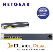 NETGEAR GS408EPP ProSafe+ Easy-Mount 8-Port Gigabit Ethernet Web Managed Switch
