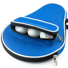 Professional Table Tennis Rackets Bat Bag Oxford Ping Pong Case With Balls Bag