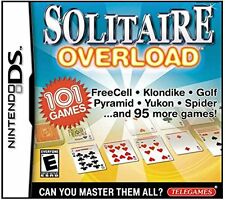 Solitaire Overload (Nintendo DS) Can You Master Them All? **NEW-SEALED**