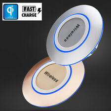 Qi Fast Charger Pad Dock Wireless Charger Pad for iPhone X 6S/7/8 Plus S8 S9 P10