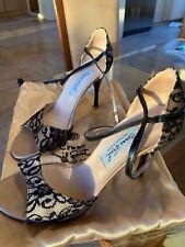 Beautiful Black Lace Comme il Faut Tango shoes Size 8