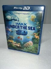 IMAX: UNDER THE SEA 3D (BLU-RAY 3D) VERY GOOD CONDITION * NO SCRATCHES