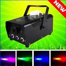 RGB LED Fog Smoke Machine for Party Club Disco DJ Stage Performance Switch 400W