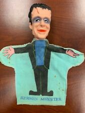 RARE 1964 Herman Munster Hand Puppet by Kayro Vue - Collectible - Free Shipping