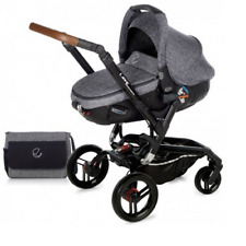 Brand new Jane Rider matrix travel system in squared with bag & raincover