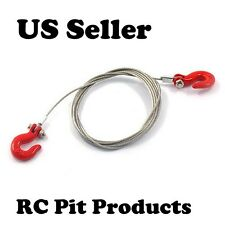 1/10 Steel Wire Rope w/Hook RC Rock Crawler/Truck Scale Accessory  US Sell