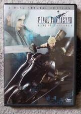 Final Fantasy VII: Advent Children (Special Edition 2-Disc DVD Set) Exc. Condtn!