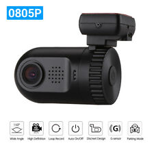 Mini 0805P HD 1296P Security Car Dash Camera DVR  LDWS T1H Vehicle Recording GPS