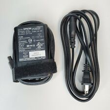 Genuine Epson PictureMate 42V 22W AC Adapter + Power cord A251B 2086233-02