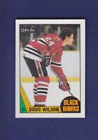 Doug Wilson 1987-88 O-PEE-CHEE Hockey #14 (NM+)