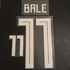 Nombre y número BALE 11 Gales conjunto local Camiseta De Fútbol Kit de impresión de Rusia 2018