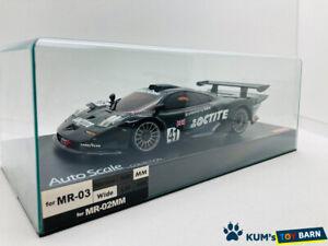 Kyosho MINI-Z Body Mclaren F1 GTR No.41 Le Mans 1998 Black MZP213LT Rare Item!!