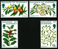 GUERNSEY 1978 CHRISTMAS SET OF ALL 4 COMMEMORATIVE STAMPS MNH (n)