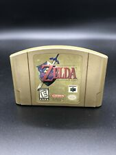 N64 The Legend of Zelda: Ocarina of Time Gold Collector's Edition - Authentic!!