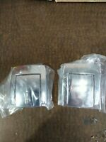 ZERO HALIBURTON Aluminum Luggage LATCHES. PARTS ONLY. Sold as a pair.